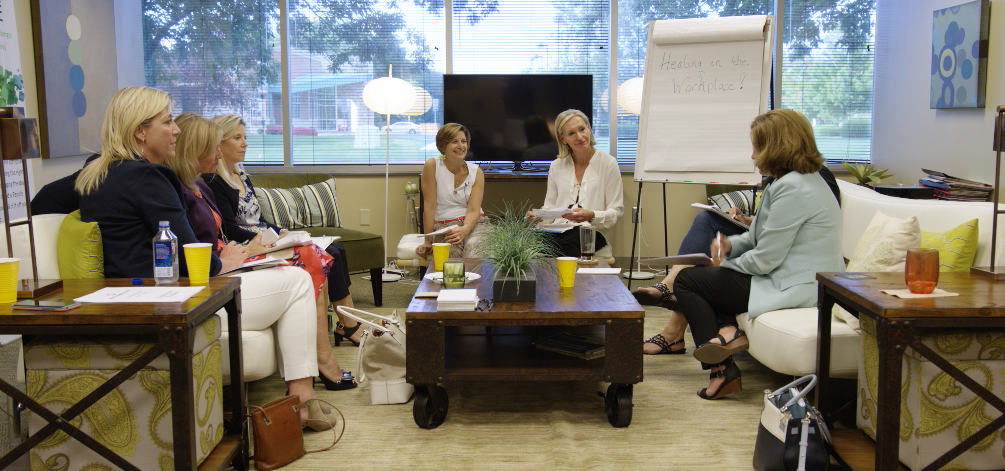 Workplace healing focus group